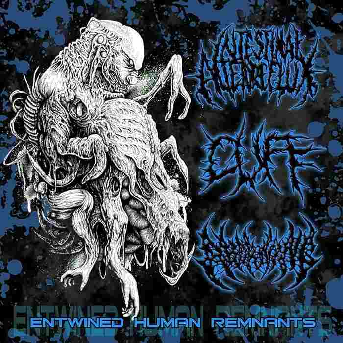 Intestinal Alien Reflux / Cuff / Aborning - Entwined Human Remnants. 3 Way Split
