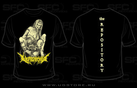 Leptotrichia - The Repository (T-Shirt)
