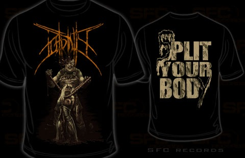 Putridity - Split your body (T-Shirt)