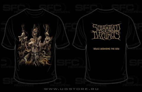 Scrambled Defuncts - Souls Despising the Sun (T-Shirt)