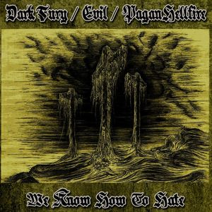 Dark Fury / Evil / Pagan Hellfire - We Know How to Hate