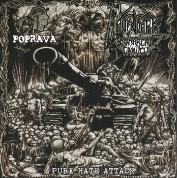 Ravendark's Monarchal Canticle / Poprava - Pure Hate Attack