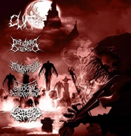 Cuff / Embryonic Devourment / Splattered Entrails / Disfiguring the Diseased / Macropsia - 5 Way Split