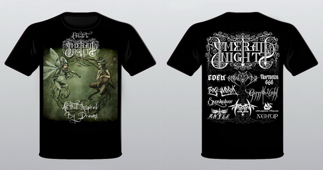 Emerald Night - T-Shirt